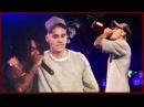 Justin Bieber Chugs Booze Drinking From The Bottle On Stage HD
