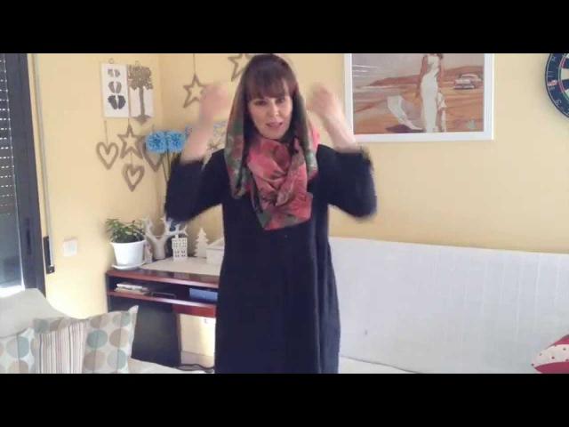 Как сделать из шарфа капюшон легко и просто » Freewka.com - Смотреть онлайн в хорощем качестве