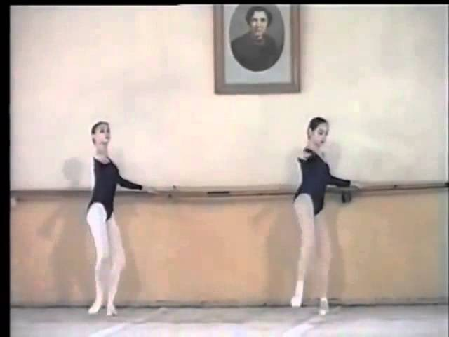 Svetlana Zakharova in Class Vaganova Academy