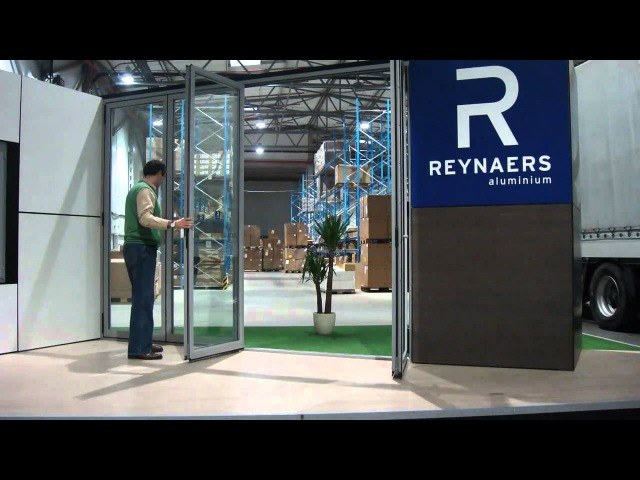 CF 77 Folding Door System from Reynaers