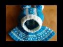 Шапочка шлем с жаккардовым узором Cap helmet with jacquard knitting pattern