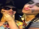 lesbian_girls_smooch_and_flash_boobs_in_car