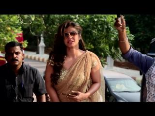 Шахрукх Кхан, Каджол, Варун Дхаван и Крити Санон на съемках фильма Dilwale