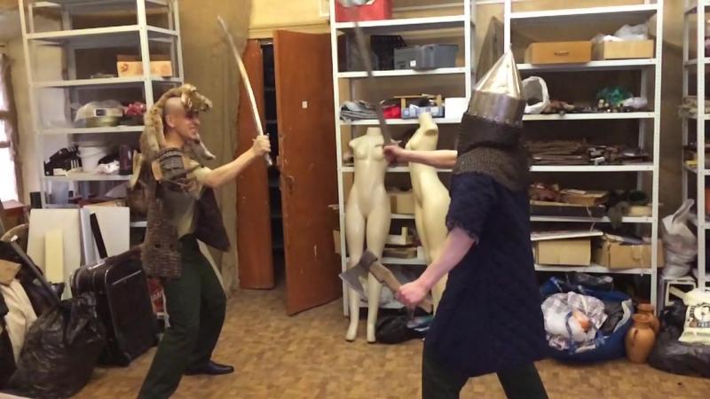 Крестоносец против шамана