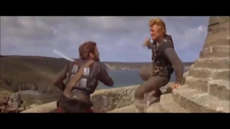 «Викинги» / The Vikings (1958) — последняя схватка Эйнара и Эрика