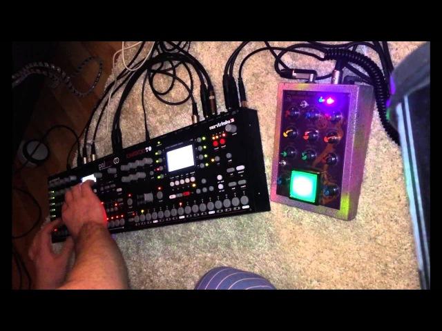 VG line BD9Q9 handmade analog kick synth module test drive