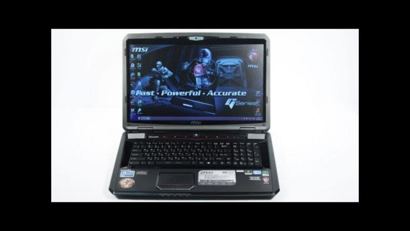 Видео обзор игрового ноутбука MSI GT70