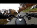 Harley Davidson Sportster Nightster Taunus, Feldberg, Schmitten, GoPro