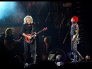 My Chemical Romance feat. Brian May 'we will rock you' Reading Festival
