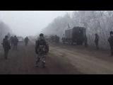 Украинские военные играют головой сепара в футбол