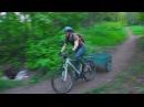 """Горный велосипед - Практическое применение. Вело прицеп или """"тачка на прокачку"""""""