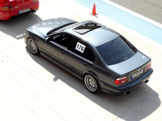 BMW E39 M5--drift & powersliding,hot laps ''in & out cam'' [SM] [HD]