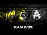Team wipe by Na'Vi vs Alliance @ StarSeries XI