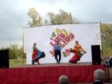 Цыганский танец на день поселка 2015 г.