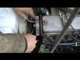 Как заменить помпу и ремень ГРМ на ВАЗ 21099!