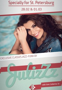 ★28Feb & 1Mar JAZZ FUNK  CLASSES by JuliZzz ★