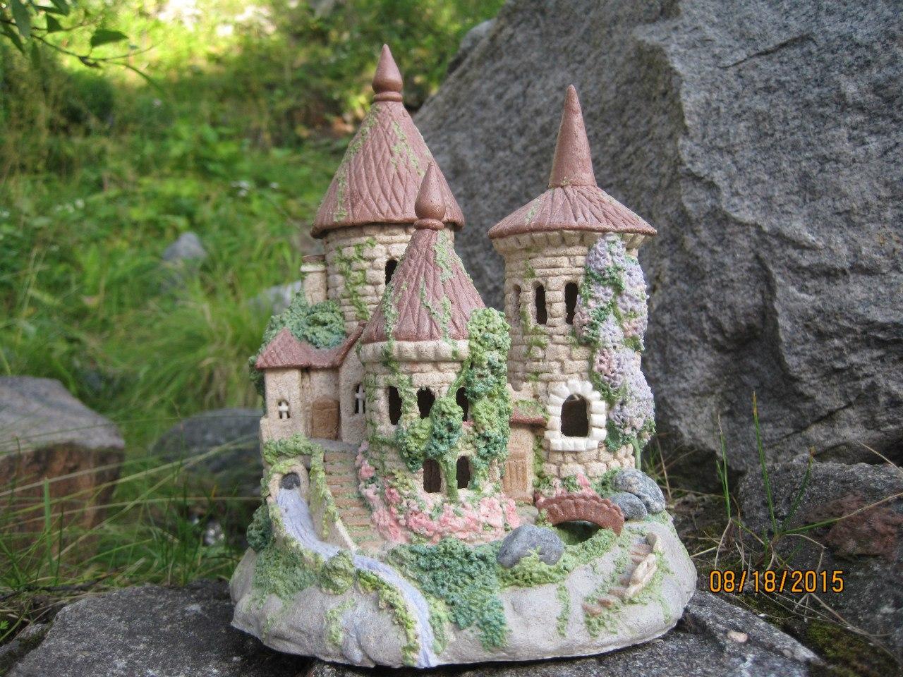 Замки и крепости своими руками из