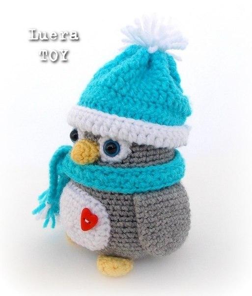 #рукоделие #пингвин #схема