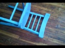 How to Pick Up a Blue Chair Off the Ground