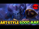 Dota 2 - ArtStyle 6000 MMR Plays Riki vol 1 - Ranked Match