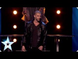 Magician Darcy Oake does the ultimate disapearing act  Britain's Got Talent 2014