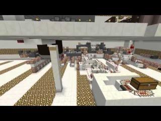 Механический дом в майнкрафт   Ссылка на карту   Постройки   Minecraft
