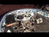 AUDI-2 литра. Установка 73-ого Карбюратора Solex