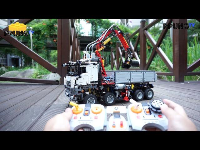 LEGO Technic 42043 - RC Motorized Mercedes-Benz Arocs 3245 by 뿡대디