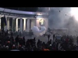 Бої на Грушевского. Київ 19.01.2014! Майдан, Україна