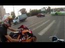 Прохват по Томску Honda CBR 1000RR Yamaha R6 ч 2