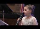 """""""Я колени склоню"""" в исполнении Ванессы Кочанжи (11 лет, дочь Дарины Кочанжи)"""