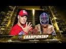 LUCHA COMPLETA: John Cena vs Rey Mysterio Campeonato WWE | Raw ᴴᴰ