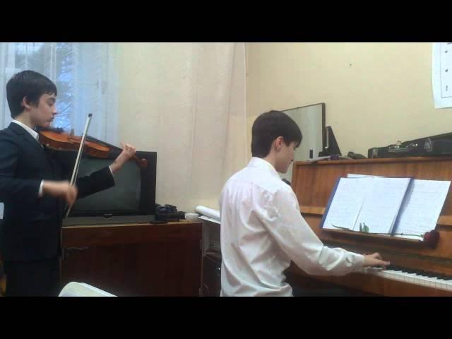 Пираты Карипского моря( Скрипка и пианино)
