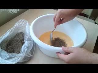 Бойлы из конопли и макухи. Карп/Hemp and oilcacke boilies