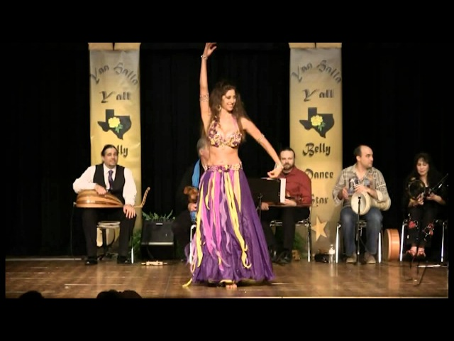 Sadie Bellydance Live: Aziza, Taqsim and Drum Solo