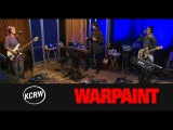 Warpaint Live on KCRW 2014
