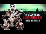 GLORY 26 Amsterdam - December 4th