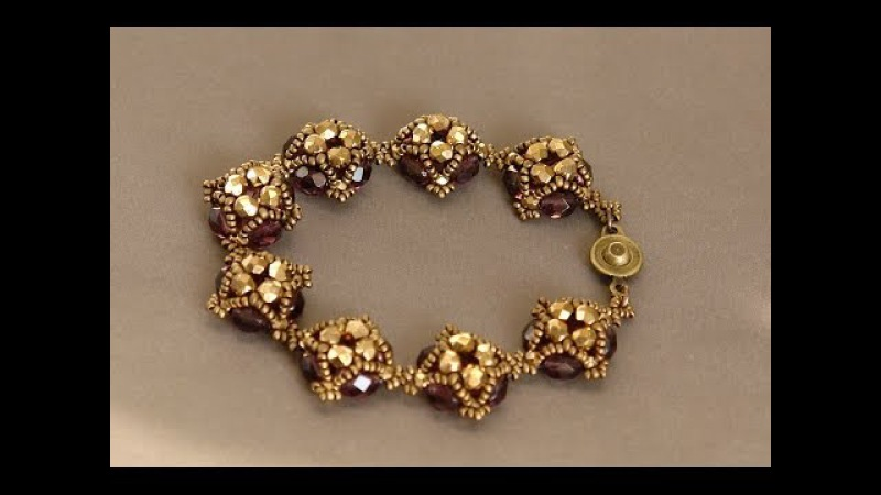 Sidonias handmade jewelry - Little Dots Beaded Bracelet Tutorial