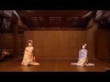 京都・東山花灯路 2015 宮川町の舞妓による奉納舞踊