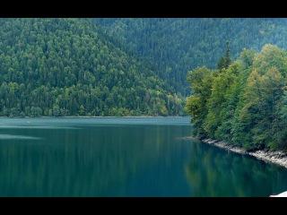 Отдых в Абхазии РИЦИНСКИЙ ЗАПОВЕДНИК с форелью лососем Что посмотреть Где отдыхать Куда поехать