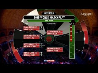 Gary Anderson vs Mensur Suljović (World Matchplay 2015 / Round 2)