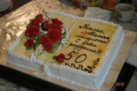 картинки тортов на юбилей