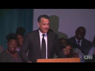 Речь Тома Хэнкса на похоронах Майкла Кларка Дункана