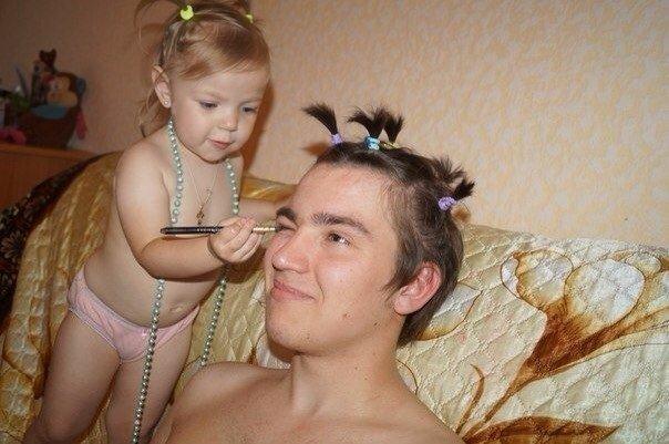 фото папа вдуо дочке
