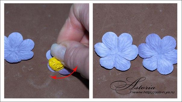 Как сделать цветы для скрапбукинга из бумаги своими руками
