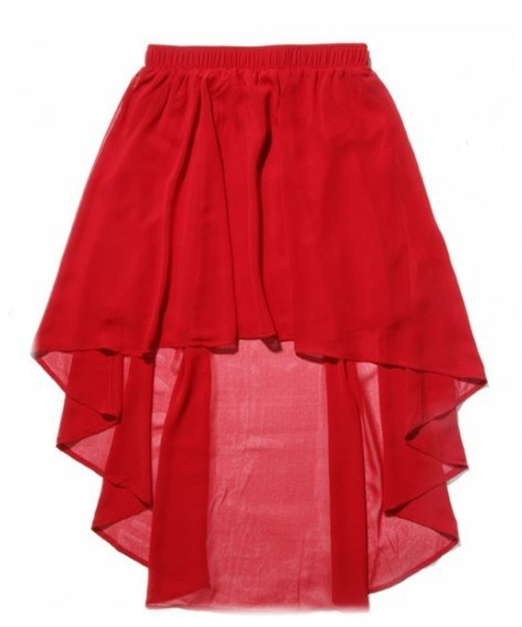 Пошив юбки с шлейфом
