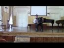 Альбин Репников Концертино 2 и 3 части исполняет Артём Кротов