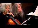 Grieg Cello Sonata in A-minor - M.Maisky, M. Argerich (1st Movement) - HD 720p