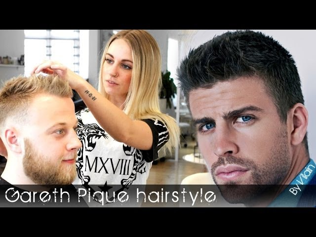 Scandinavian Gerard Piqué hairstyle | Men's hairstyle with beard I Slikhaar TV By Vilain Gold Digger