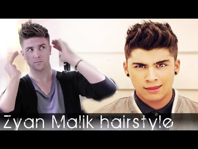 Zayn Malik hair - One Direction inspired hairstyle for mens hair - Spring hair 2012 - Slikhaar TV 24